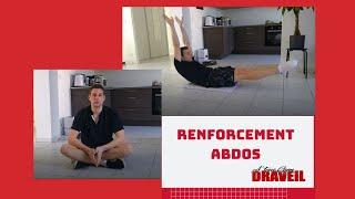 Renforcement abdos à la maison - A'Tous Gym Draveil
