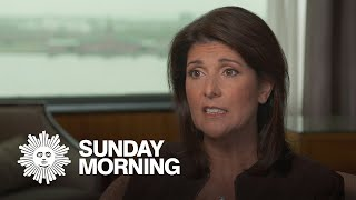 Nikki Haley on Trump, impeachment, and siding with the president
