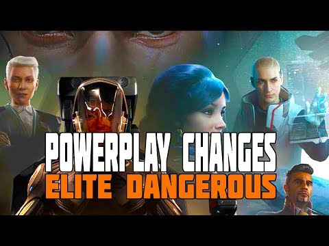 Elite Dangerous - PowerPlay Changes: Improvements and Going Open Mode Only