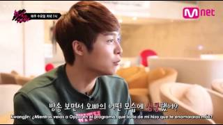 [SUB ESP/CUT] Date With Kwangjin    One Night Study