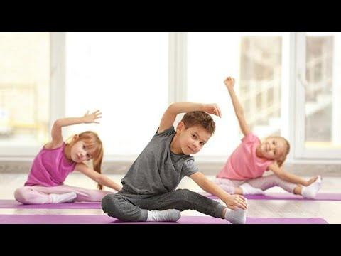 Фитнес для детей 6 лет видео уроки