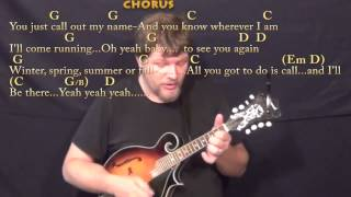 You've Got A Friend (carole King) Mandolin Cover Lesson In G With Chords/lyrics