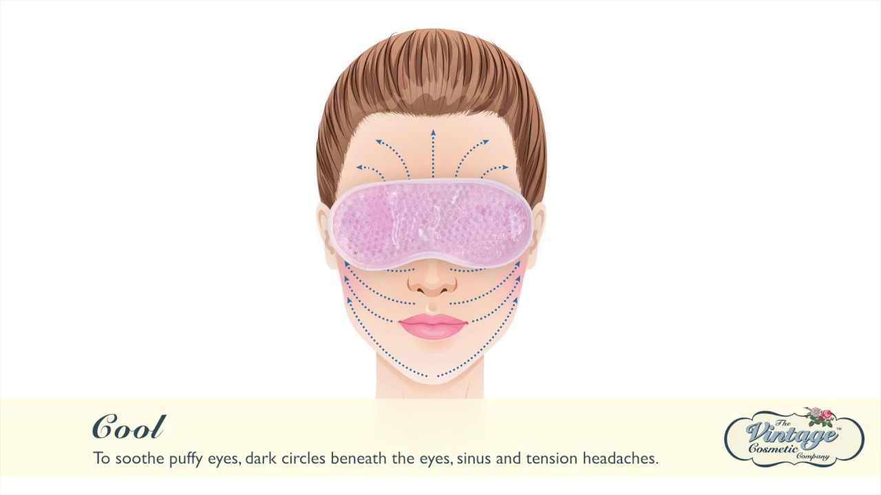 6afc3abf69c How to use our Gel Bead Eye Mask - YouTube