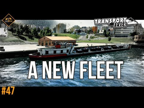 Growing the industrial hub with a new fleet | Transport Fever The Alps #47