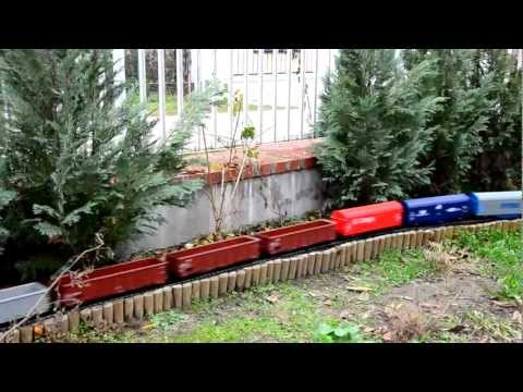 PIKO G scale European garden train with sound HD
