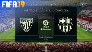 FIFA 19 - Athletic de Bilbao vs. FC Barcelona @ Estadio San Mamés