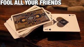 The PERFECT Back To School Card Trick!