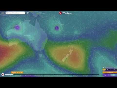 Australia, New Zealand, Oceania   Major Weather Alerts