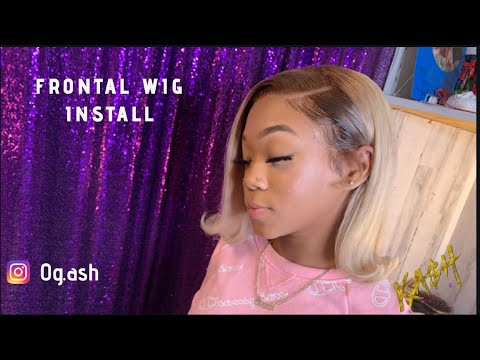 LACE FRONTAL WIG INSTALL | BEGINNER FRIENDLY
