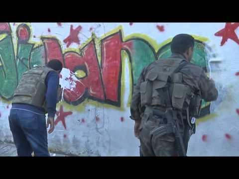 Anti terror operation in Turkey's Nusaybin