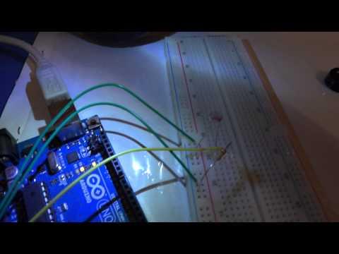 Фоторезистор Arduino и Max/MSP