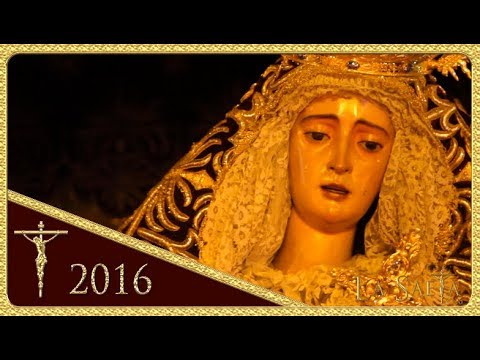 Saeta de Manuel Lombo a la Virgen del Valle - Hermandad del Valle (Sevilla 2016 - Semana Santa)
