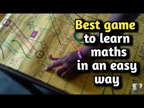 Best Maths Game With Snakes And Ladders