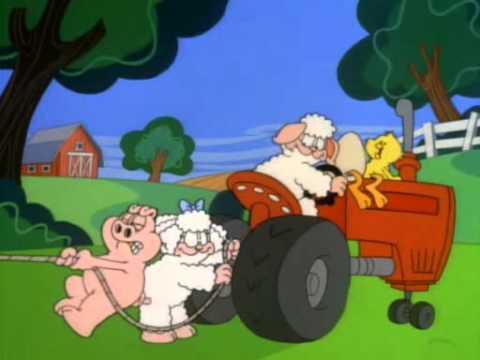 youtube filmek - Garfield és Barátai-5x02-Fogyókúra-A kakas aki farkast kiáltott-A kívánságok kútja