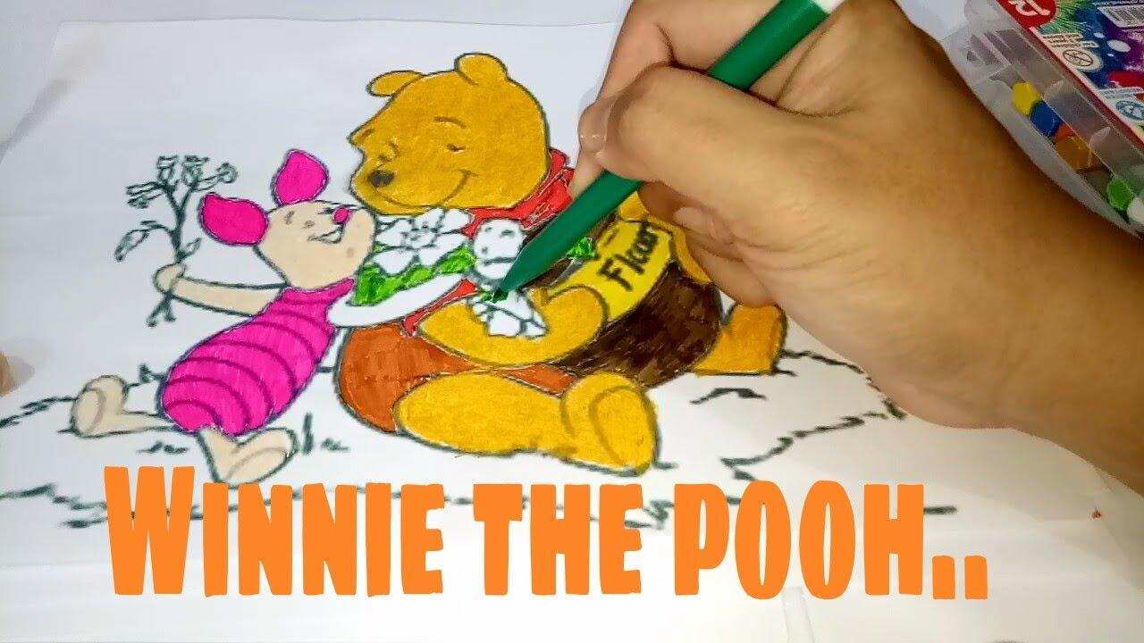 Yuk Warnai Si Beruang Madu Winnie The Pooh