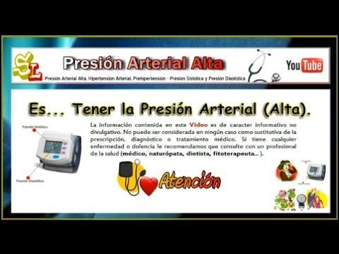 Presión Arterial Alta, Hipertensión Arterial..