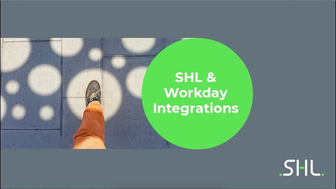 Workday Integration - SHL