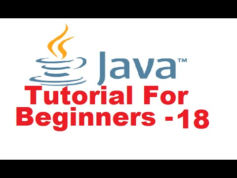 java-tutorial-for-beginners-18---classes-and-objects-in-java