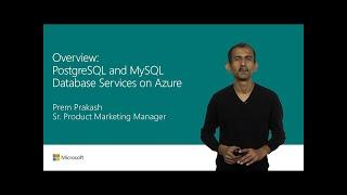 Overview: Azure Database for PostgreSQL and MySQL | T147