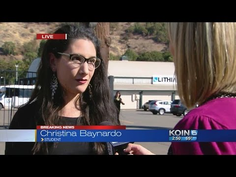 Friend of Umpqua Community College shooting victim talks