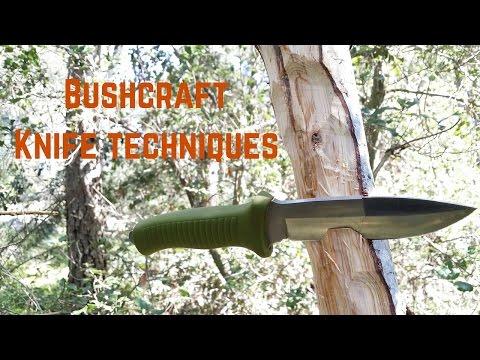 Tecniche di utilizzo del coltello bushcraft/ da sopravvivenza