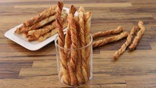Garlic Parmesan Twists Recipe | Parmesan Breadsticks