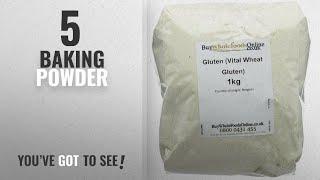 Top 10 Baking Powder [2018]: Buy Whole Foods Online Vital Wheat Gluten Flour 1 kg