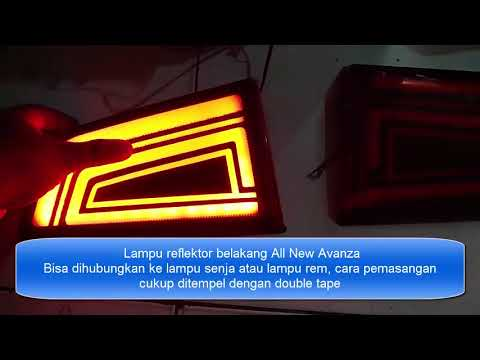 Lampu Reflektor Grand New Avanza Warna Toyota Bagasi Youtube
