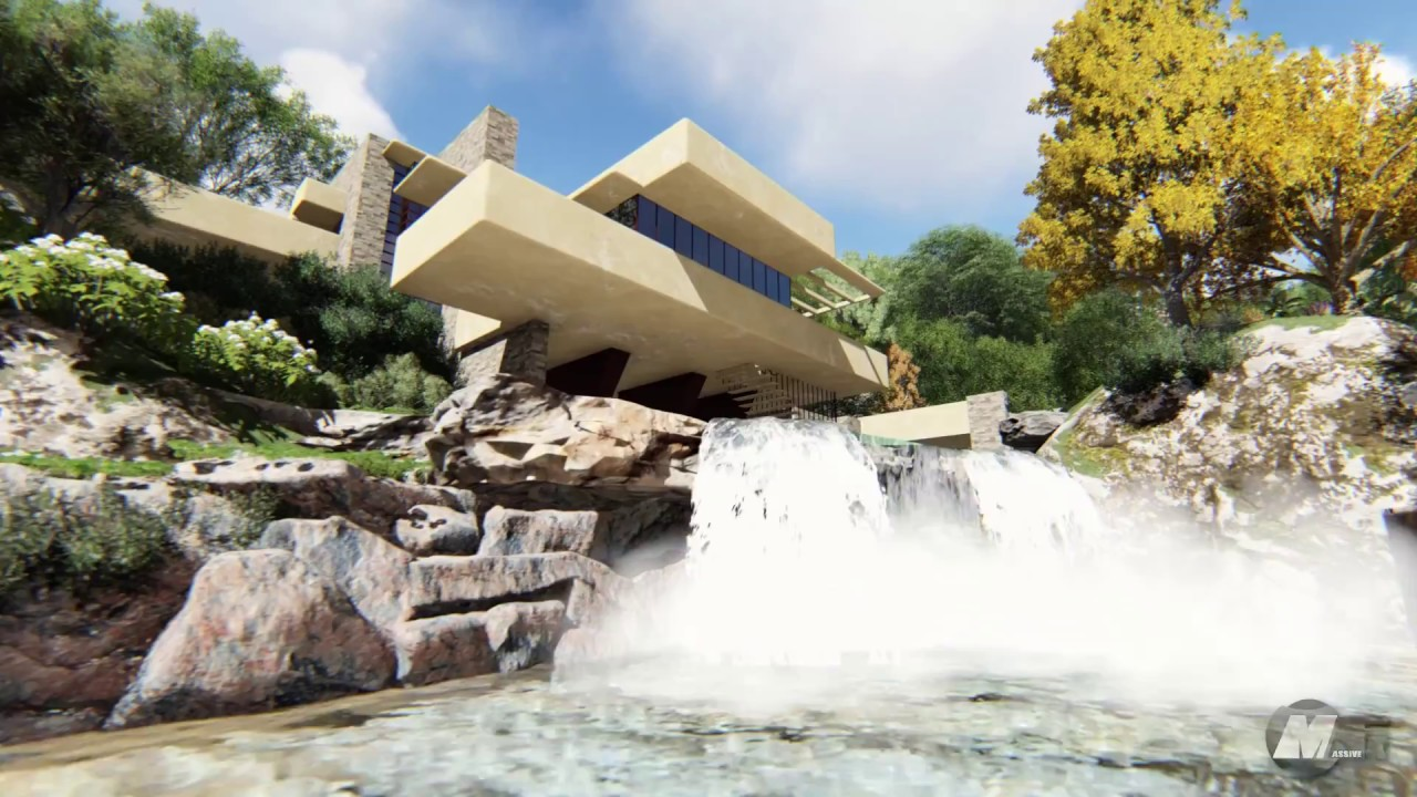 Fallingwater la casa sulla cascata youtube for Wright la casa sulla cascata