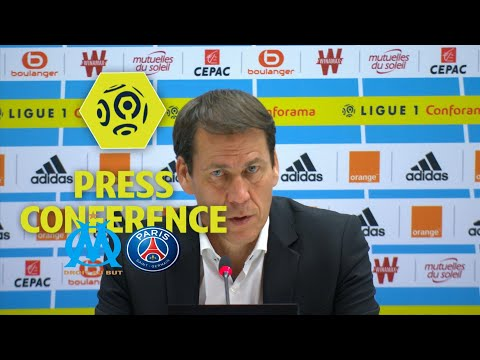 Press Conference Olympique de Marseille - Paris Saint-Germain (2-2) - 2017/18