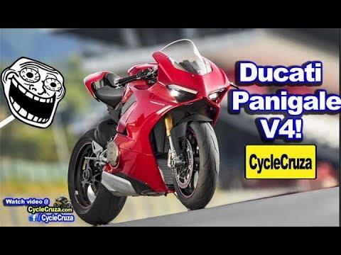 2018 Ducati Panigale V4 UNVEILED! Sounds Like MotoGP Bike!