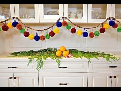 Новогодние гирлянды  лучший вариант декора вашего дома