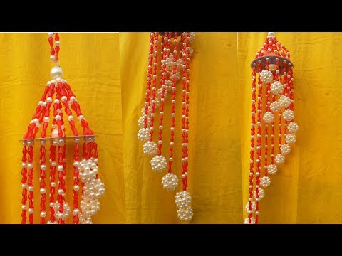 Fantastic Beaded Wind Chime /Doorbell/Wall Hanging | How To Make Beautiful Beaded Door/Wall Hanging
