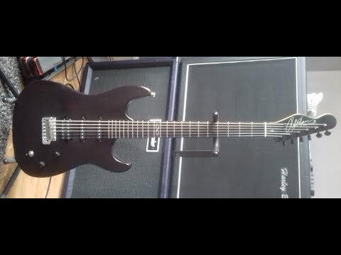 Another boring fretwork video....... First run Chapman ML-1 gets some TLC