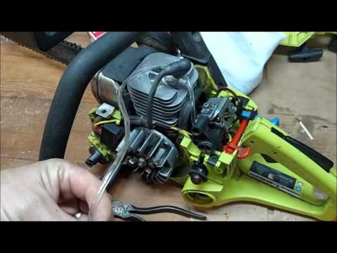 poulan 2150 chainsaw fuel line diagram dog brain how to install walbro carburetor on the after teardown and rebuild ...