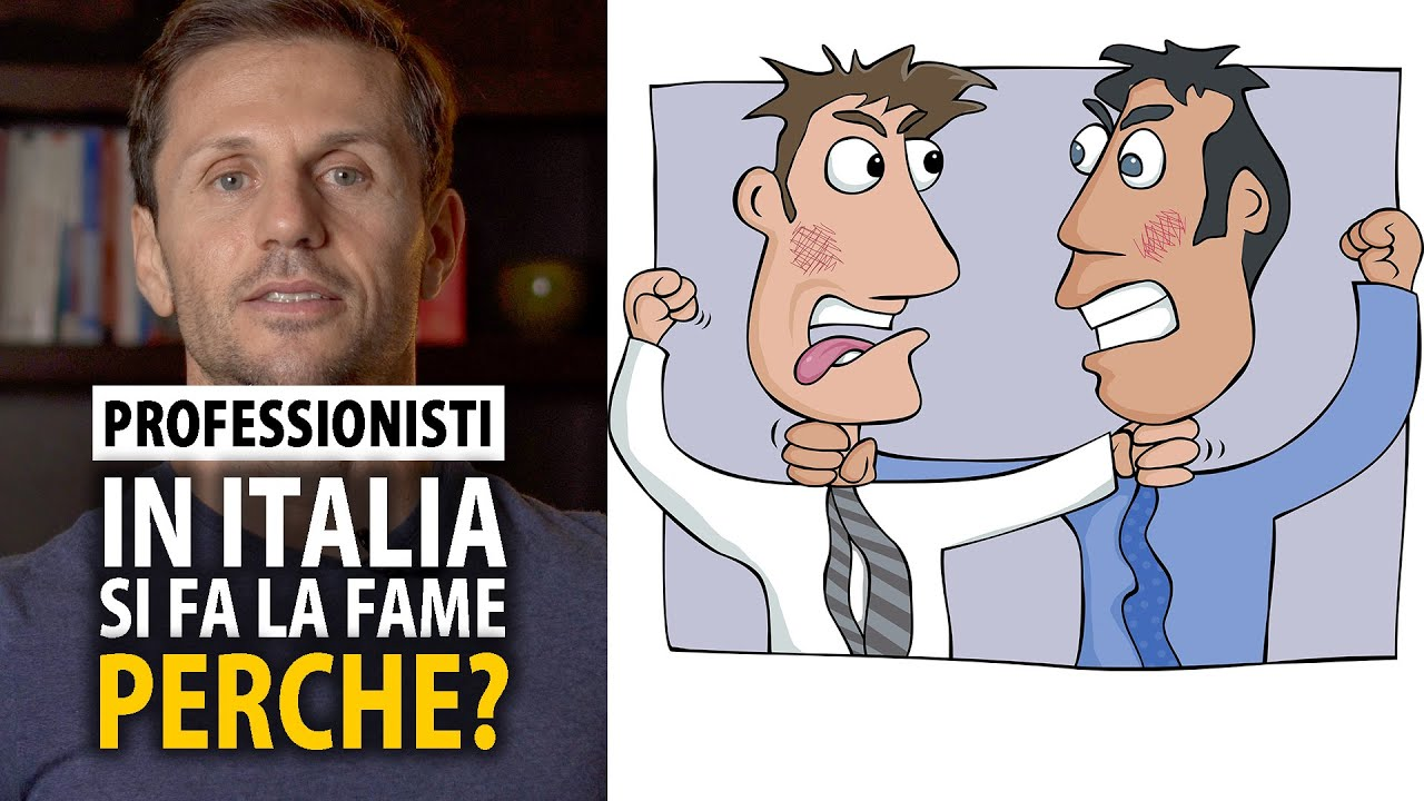 Perché gran parte dei professionisti in Italia fa la fame? | avv. Angelo Greco