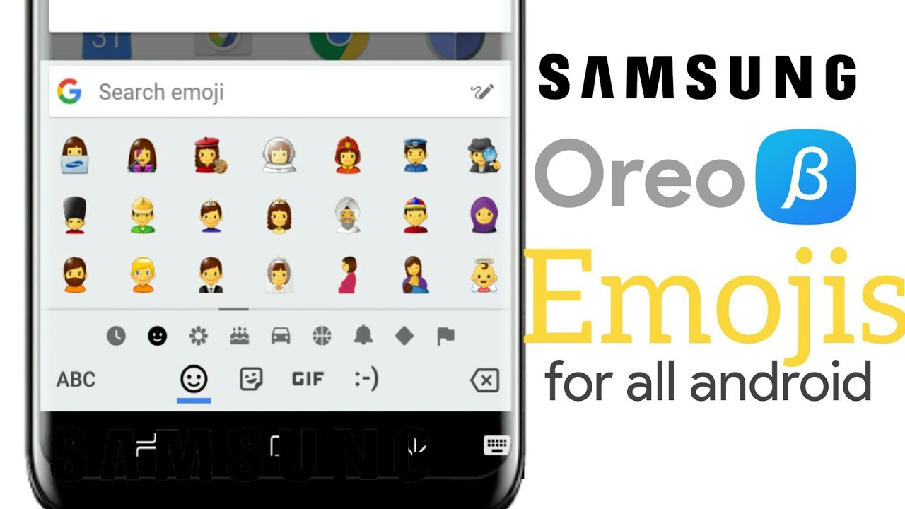 Get Samsung Oreo Beta Emojis On Any Android