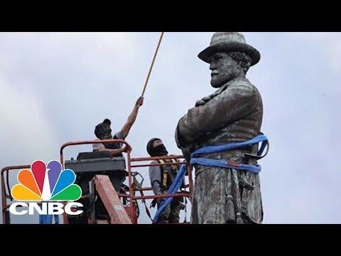 Baltimore Removes Confederate Statues In Overnight Operation   CNBC