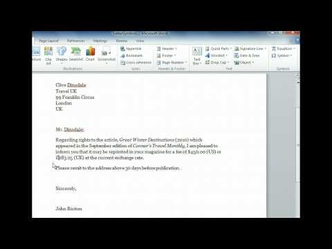 Word 2010 - Insert Symbols - Microsoft Office 2010 Training