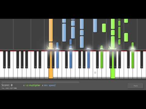 Piano Tutorial: Muse - Ruled by Secrecy (more accurate version)