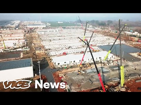 Watch This Time-Lapse of China Building a Coronavirus Hospital in ...