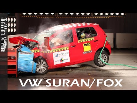 Volkswagen Suran (Fox) Safety Tests Latin NCAP | March 2019 Ratings