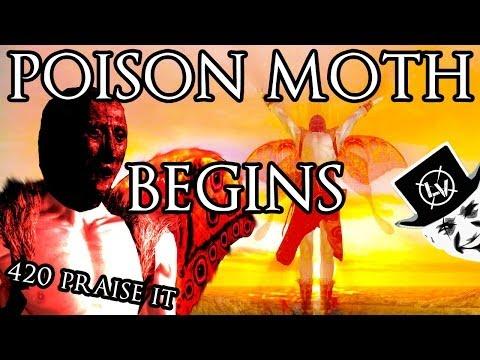 LaeppaVika - POISON MOTH BEGINS (Dark Souls 2)