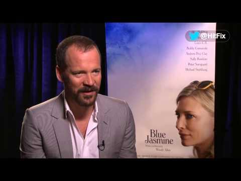 Blue Jasmine - Peter Sarsgaard Interview