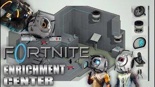 Fortnite + Portal 2 = creative science