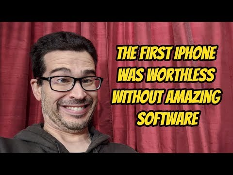 Why the First iPhone Won Because of Software, NOT Hardware!