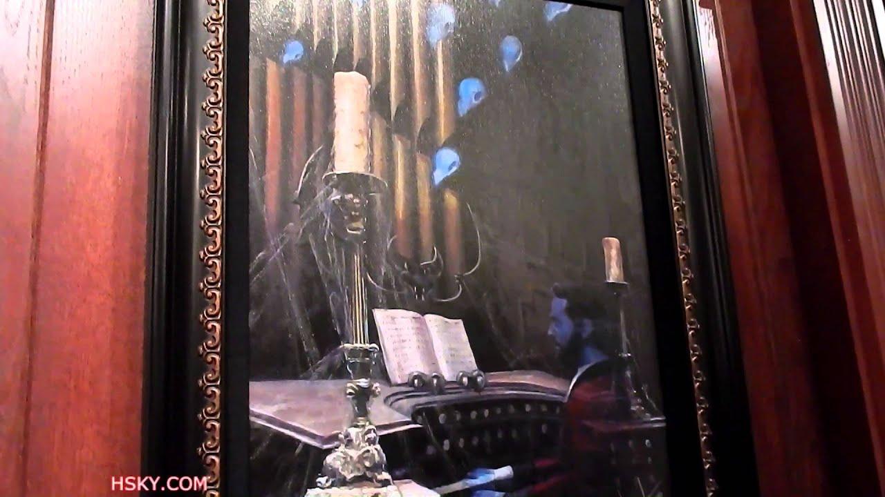 #227 Hsky Haunted Mansion Artwork Disney