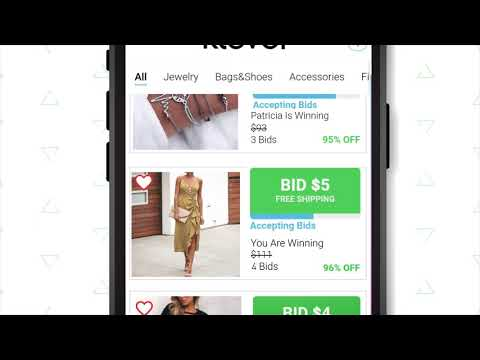 Klever Live Shopping Auctions Discounts Deals Apps On Google Play