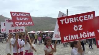Türk Dil Bayramı Etkinlikleri; Ermenek Balkusan (2016)