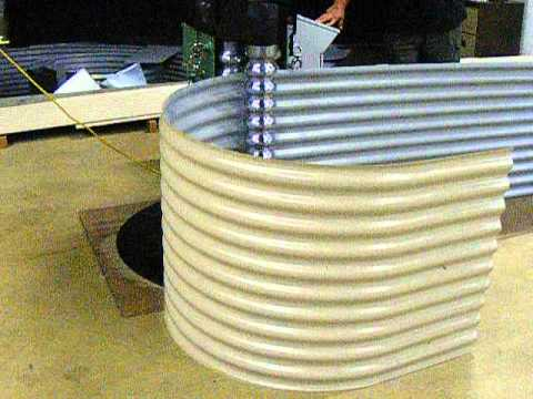 Shaw Bend Cnc Corrugated Curving Rolls Youtube